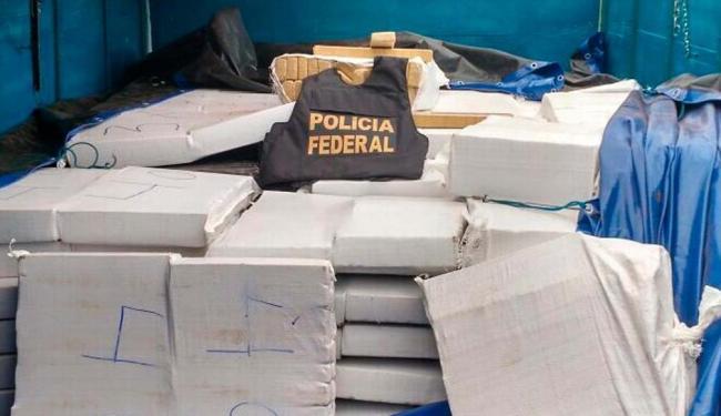 Três suspeitos foram presos transportando a carga - Foto: Reprodução I Polícia Rodoviária Federal