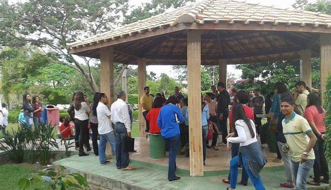 Em reunião realizada no campus de Vitória da Conquista foi decidida a paralisação - Foto: Reprodução   Facebook