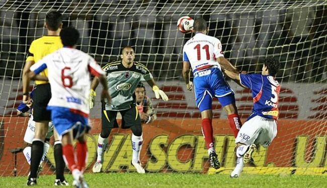 Em 2010, Bahia bateu Paraná por 1 a 0, fora de casa - gol de Jael - Foto: Heuler Andrey l AGIF l Folhapress