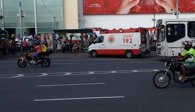 Todos os feridos foram levados para unidades hospitalares - Foto: Alan Oliveira   Ag. A TARDE