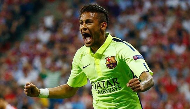 Neymar marcou dois e garantiu o Barça na final da Liga do Campeões - Foto: Reuters