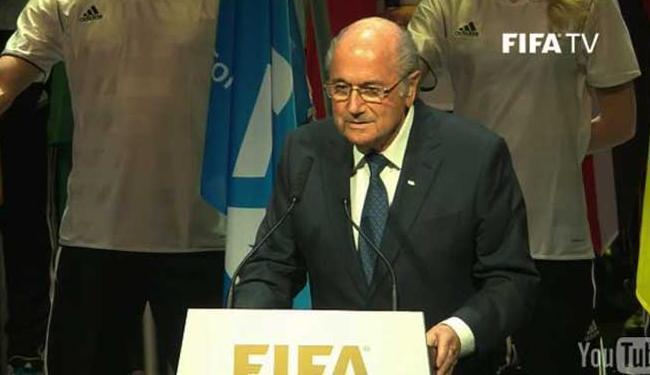 Presidente da Fifa diz que minoria corrupta será punida - Foto: Reprodução | Fifa TV | Youtube