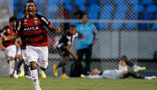 Jogador comemora após marcar gol para o Leãozinho - Foto: André Mourão l Agência O Dia l Estadão Conteúdo