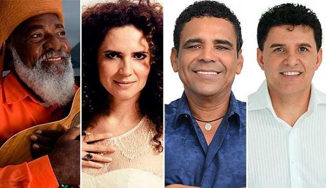 Bule Bule, Cláudia Cunha, Carlos Villela e Dell Feliz apresentam o melhor do forró neste sábado - Foto: Divulgação