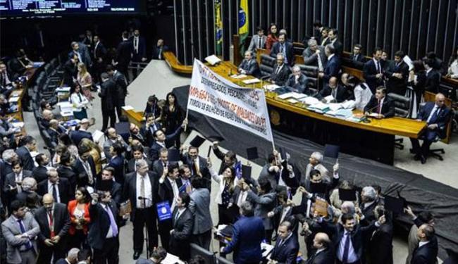 Votação marcou primeira derrota importante do governo sobre o ajuste fiscal - Foto: Wilson Dias l Agência Brasil