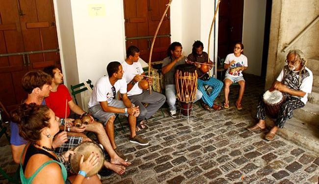 As atividades foram gratuitas e ocorreram na Casa do Benin, no Pelourinho - Foto: Fernando Vivas | Ag. A TARDE