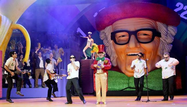 A gravação do espetáculo contou com estrelas da TV na plateia - Foto: Marcos Pacheco | Divulgação
