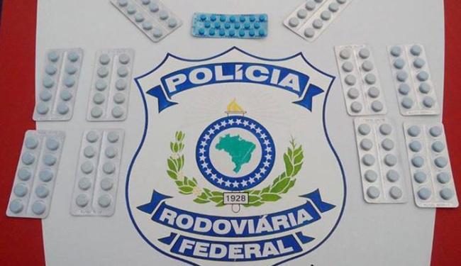 Venda do medicamento, que não tem registro na Anvisa, é proibida no Brasil - Foto: Divulgação   Polícia Rodoviária Federal