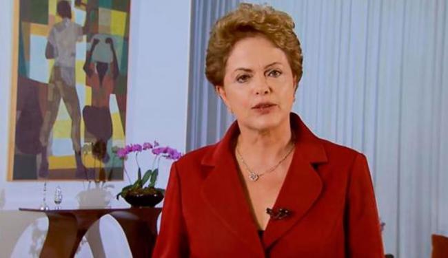 A presidenta Dilma Rousseff usa as redes sociais para fazer pronunciamento no Dia do Trabalhador - Foto: Reprodução