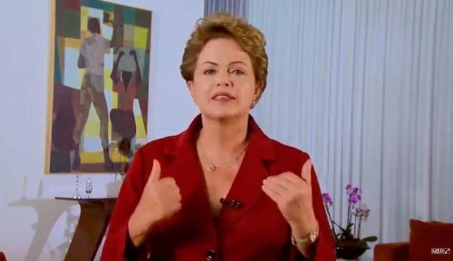 Dilma ressaltou que é preciso