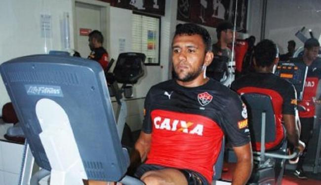 Jogadores do Leão treinam na academia neste feriado - Foto: Divulgação