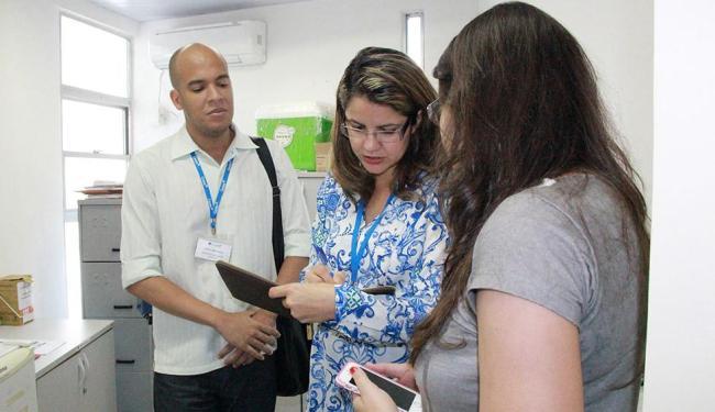 Equipe do Coren-BA fiscaliza uma unidade de saúde do estado - Foto: Ascom Coren-BA | Divulgação