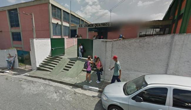 Escola onde a garota foi estuprada pelos colegas na zona sul de São Paulo - Foto: Reprodução   Google Street View