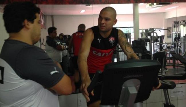 Avaliação física de Guilherme Mattis é satisfatória - Foto: Divulgação   E.C. Vitória