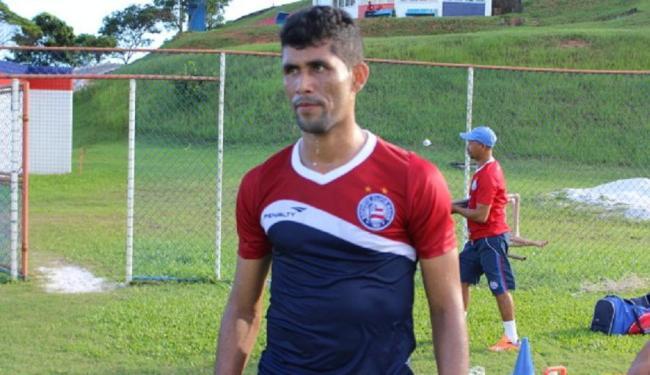 O lateral esquerdo Marlon já treina com a equipe do esquadrão - Foto: Divulgação | E.C. Bahia