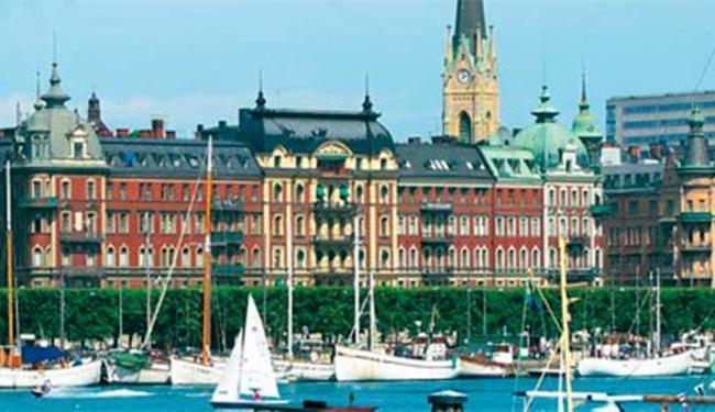 Estocolmo, na Suécia, é uma das paradas do navio Costa Luminosa - Foto: Reprodução   Costa Cruzeiros