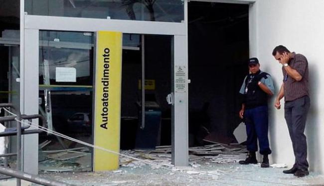 A quantia levada pelos bandidos não foi informada - Foto: Reprodução | Portal Bahia News