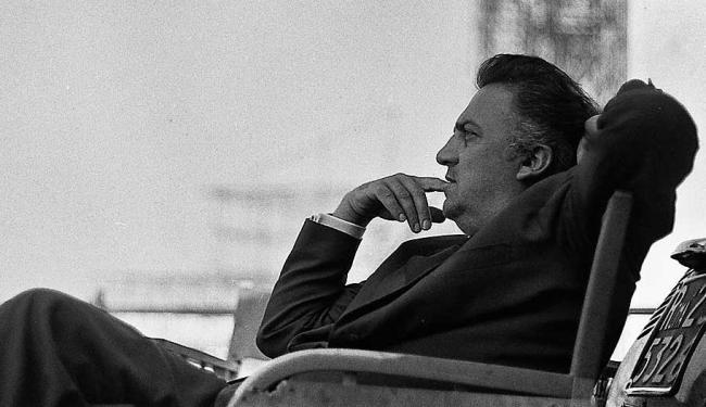 Festival começa com a exibição do curta Unfinished Fellini, de Marco Bertozzi - Foto: Tazio Secchiaroli | Divulgação