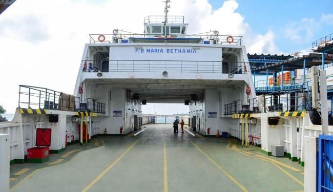 Embarcação Maria Bethânia apresentou problemas nos cabos - Foto: Divulgação