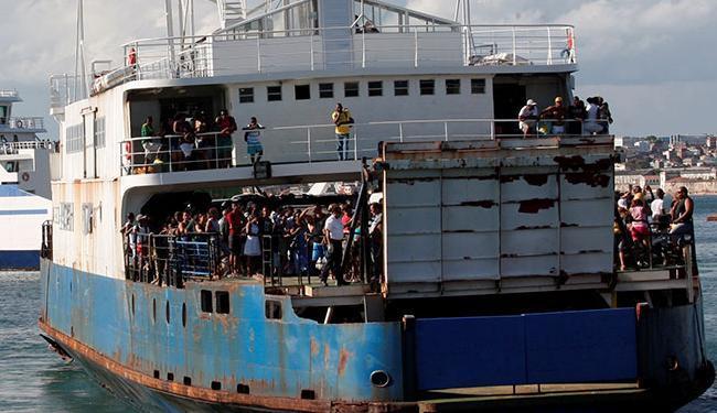 As embarcações estão saindo dentro do horário programado - Foto: Margarida Neide | Ag. A TARDE