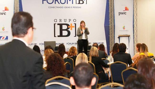 A 25ª edição do Fórum B[+] reuniu dezenas de empresários e executivos - Foto: Edilson Lima | Ag. A TARDE