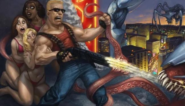 Game Duke Nukem 3D - Foto: Reprodução   Vídeo   SambaAds