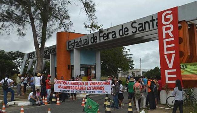 Professores da Uefs entraram em greve na segunda-feria, 11 - Foto: Divulgação