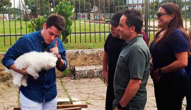 Gugu, Bacci, Fabíola e Magela já haviam deixado o local quando a polícia chegou - Foto: Divulgação   R7