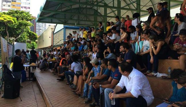 Servidores se reuniram nesta terça - Foto: Divulgação