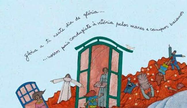 livro também tem ilustrações - Foto: Divulgação