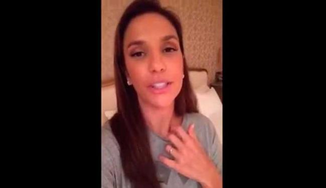 Ivete Sangalo postou vídeo no Dia das Mães - Foto: Reprodução   Facebook