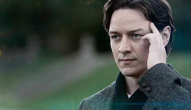 James McAvoy no papel do professor Xavier jovem - Foto: Divulgação