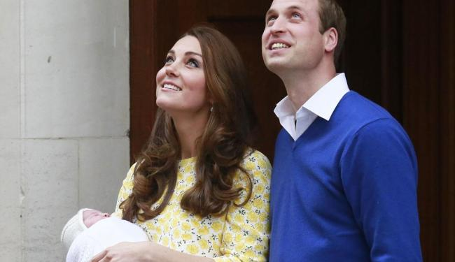 O nome da pequena princesa foi divulgado pelo perfil do Palácio de Kensington no Twitter - Foto: Cathal McNaughton   Ag. Reuters