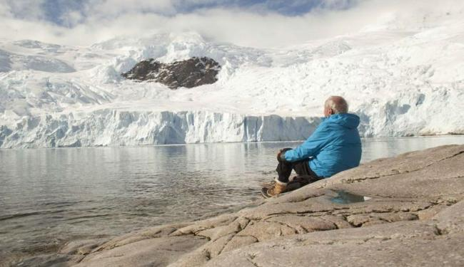 O filme conta as experiências do octogenário cientista francês Claude Lorius - Foto: Divulgação