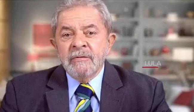 Lula aparece no vídeo falando das conquistas, que ele atribui ao partido, para os trabalhadores - Foto: Reprodução | Vídeo | PT