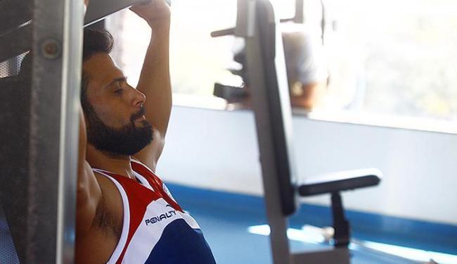 Maxi e outros atletas poupados ficarão em Salvador fazendo treinamento físico - Foto: Edilson Lima | Ag. A TARDE