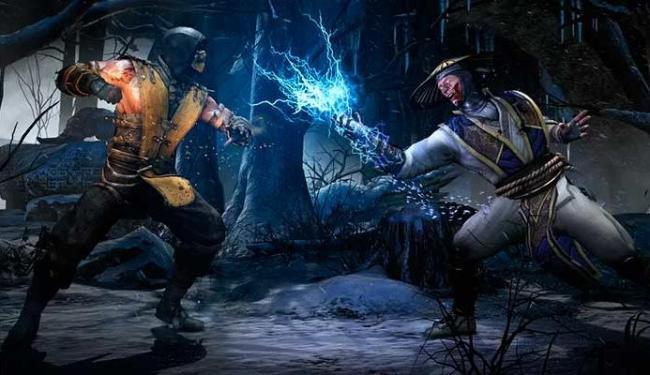 Game traz novos lutadores e antigos, como Scorpion e Rayden - Foto: Divulgação
