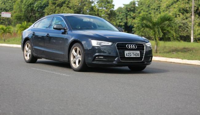 O Audi A5 custa R$ 150.990 na versão Ambiente - Foto: Joá Souza   Ag. A TARDE