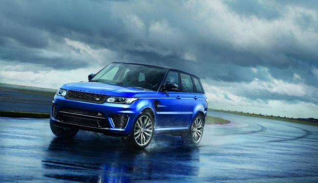 O SVR traz itens de luxo, conforto e tecnologia - Foto: Divulgação   Land Rover