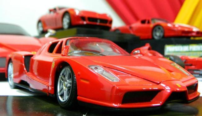 Exposição traz mais de 300 modelos de miniaturas - Foto: Divulgação | Miniaturas Bahia