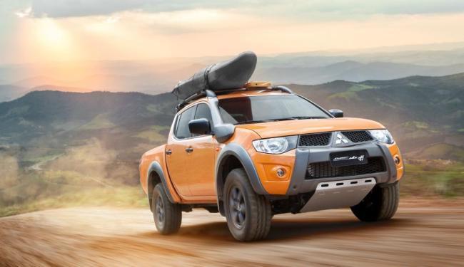 A nova Triton Savana Off custa R$ 128.990 e tem motor 3.2 a diesel de 180 cv - Foto: Divulgação Mitsubishi