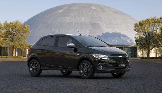 O hatch terá produção limitada em três mil unidades - Foto: Divulgação Chevrolet