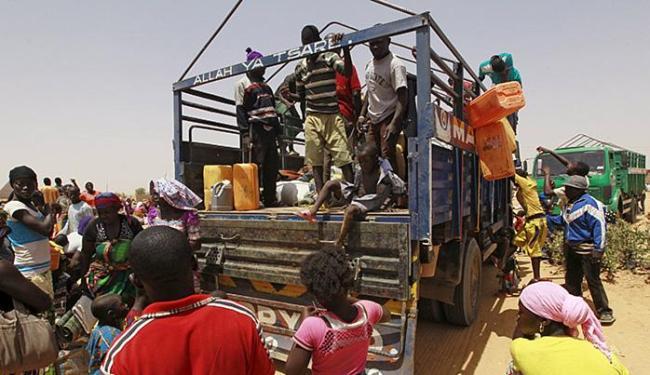 Segundo a ONU, mais de 1,5 milhão de pessoas foram obrigadas a deixar suas casas nos últimos 6 anos - Foto: Afolabi Sotunde l Reuters