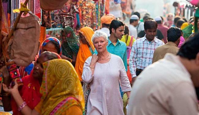 A cidade de Jaipur voltou a ser cenário para a sequência do filme que rendeu US$ 135 milhões - Foto: Divulgação