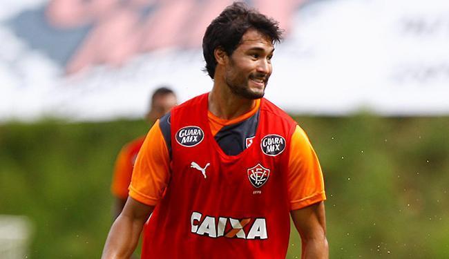 Pedro Ken se apresentou e já treinou entre os titulares - Foto: Eduardo Martins | Ag. A TARDE