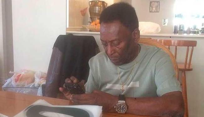 Exames em Pelé descartaram a possibilidade de câncer - Foto: Reprodução | Facebook
