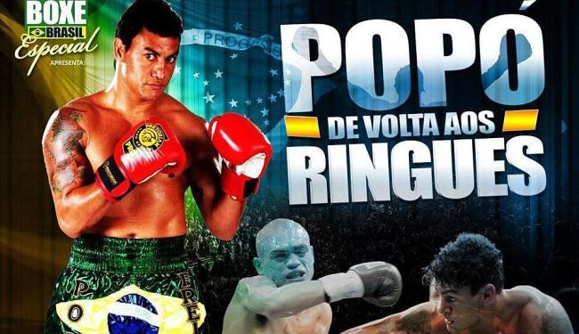 Evento do boxe que contará com várias lutas tem Popó x Michael como principal duelo no ringue - Foto: Reprodução