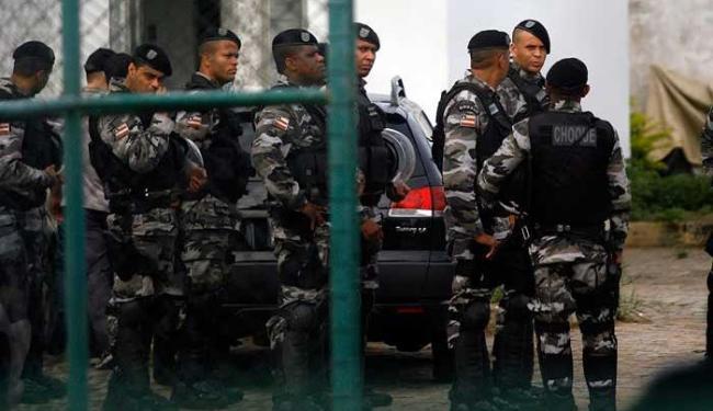 Oito presos foram mortos e cinco ficaram feridos, nenhum corre risco de morte - Foto: Luiz Tito   Ag. A TARDE
