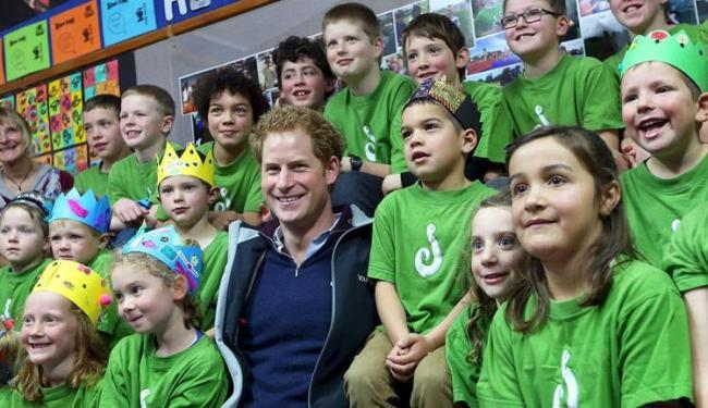 O príncipe Harry disse que adoraria ter filhos, mas que ainda espera pela pessoa certa para dividir - Foto: Robyn Edie   Pool   Ag. Reuters