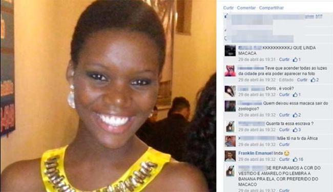 Professora foi vítima de racismo em postagens do Facebook - Foto: Reprodução